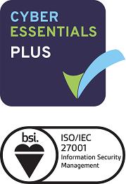 Infosec certification badges