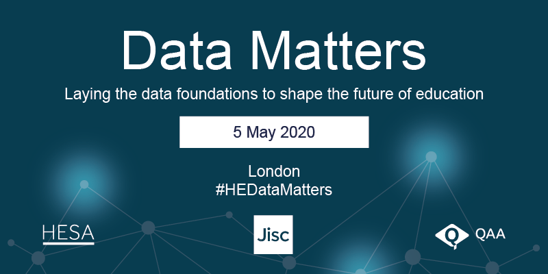 Data Matters conference 5 May 2020 logo