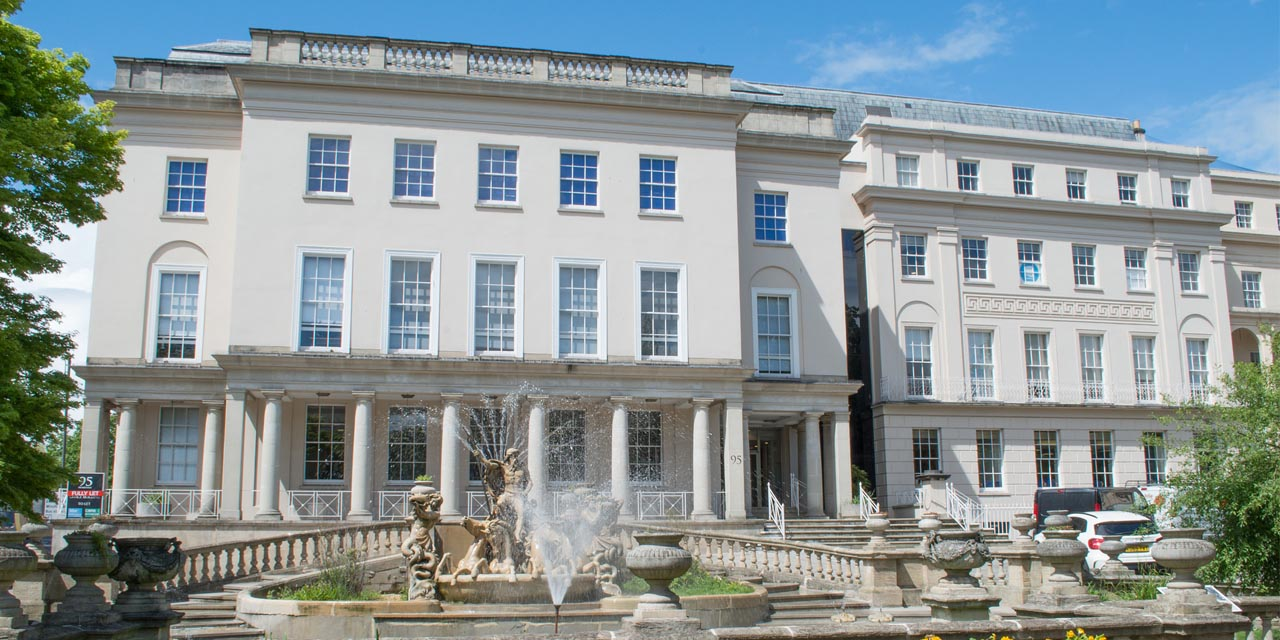 The HESA offices in Cheltenham