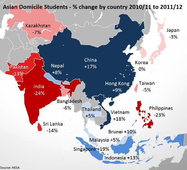 Asian Domicile Students