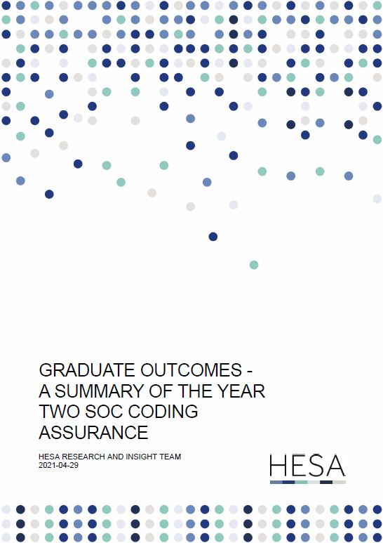 Research paper - Graduate Outcomes - A Summary of the Year Two SOC Coding Assurance