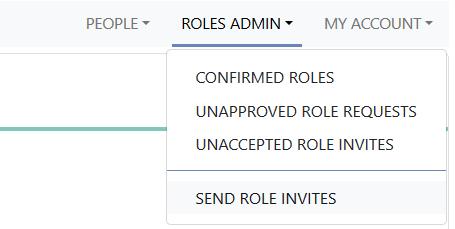 Roles admin tab