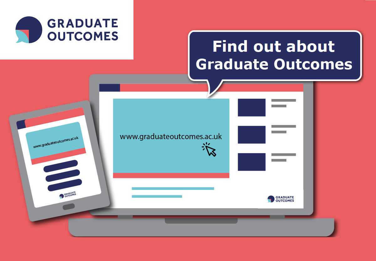 Find out about Graduate Outcomes