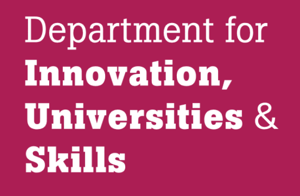 Dept of innovation, universities and skills