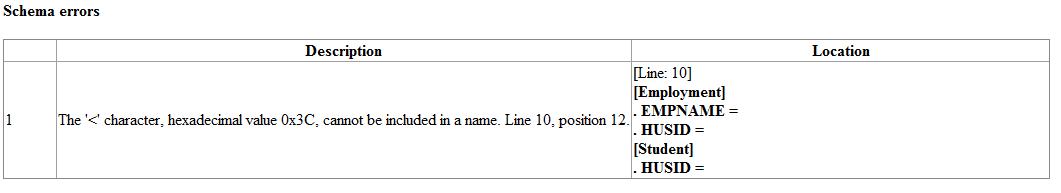 Schema errors - image 5