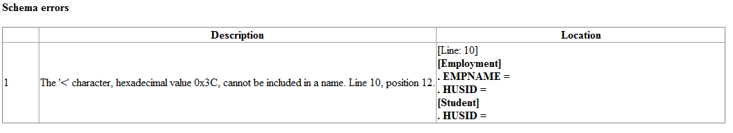 Schema errors - image 8