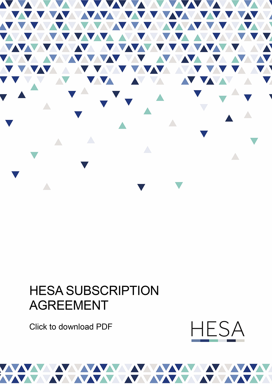 Subscription Agreement cover
